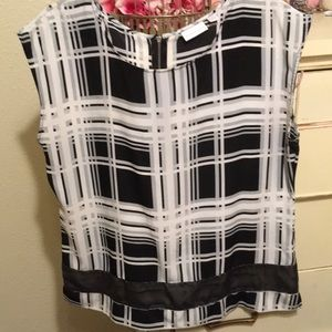 NYC polyester top size L EUC